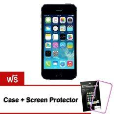 ซื้อ Refurbished Apple Iphone5S 16 Gb Black Free Case Screenprotector ใน กรุงเทพมหานคร