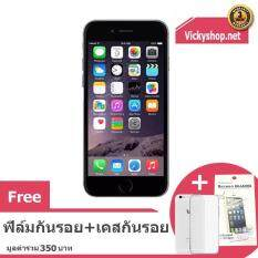 ส่วนลด Refurbished Apple Iphone6 16 Gb 4 7 Space Grey Free Case Film Apple