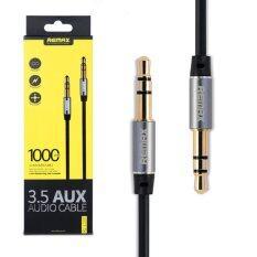 ขาย Remax Aux Audio 3 5 1000Mm Cable สายยาว 1M Black ถูก ไทย