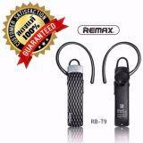 โปรโมชั่น Remax หูฟัง ไร้สาย บลูทูธ Bluetooth 4 1 Hd Voice Small Talk รุ่น Rb T9 สีดำ Remax ใหม่ล่าสุด