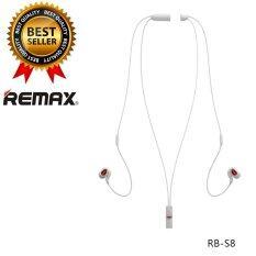 ขาย Remax หูฟังบลูทูธไร้สาย Bluetooth Small Talk รุ่น Rb S8 สีดำ ออนไลน์