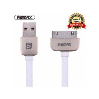 Remax สายชาร์จ Cable Charger for Iphone 4/4s/Ipad1/Ipad2/Ipad3(White)