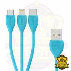 ขาย Remax สายชาร์จ Cable Data Lightning 3In1 Type C Iphone Micro Usb รุ่น Rc 050Th ราคาถูกที่สุด