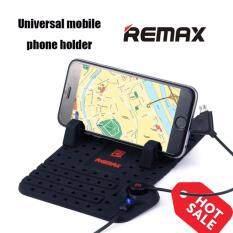Remax Car Holder ขาตั้งมือถือ แท่นวางโทรศัพท์ ในรถยนต์ ชาร์จไฟได้ ระบบแม่เหล็ก พร้อมสายชาร์จ 2 In 1 สีดำ Remax ถูก ใน สมุทรปราการ