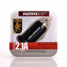 ขาย Remax Dual Usb Car Charger หัวชาร์จรถยนต์ 2 Usb 2 1A สีดำ Black Remax ถูก