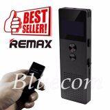 ทบทวน ที่สุด Remax เครื่องบันทึกเสียง Voice Recorder 8Gb Rp1 สีดำ
