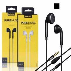 ราคา Remax หูฟัง สมอลล์ทอล์ค แบบสอดหู รุ่น Rm 303 สีดำ เป็นต้นฉบับ