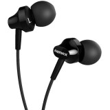 ความคิดเห็น Remax In Ear Stereo Earphones For Iphone Android Mobile Phone Ipad Tablet Black