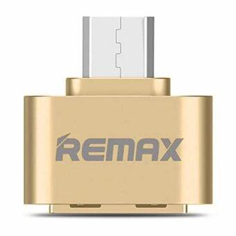 Remax OTG Adapter Android RA-OTG USB (สีทอง)36