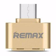 Remax OTG Adapter Android RA-OTG USB (สีทอง) 52