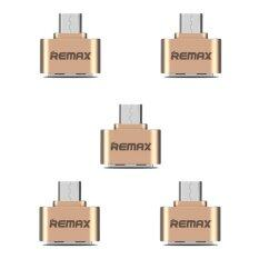 Remax OTG Adapter RA-OTG USB (สีทอง)