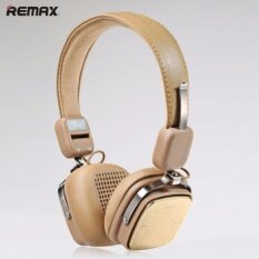 Remax หูฟังบลูทูธ Rb 200Hb 3 5Mm Mart Hifi Wireless Bluetooth Headphone On Ear Headset For Smartphones เป็นต้นฉบับ