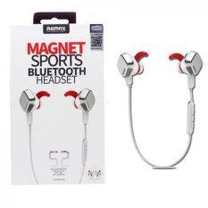 ราคา Remax Remax Maxnet Sports Blutoothหูฟังไร้สาย หูฟังWirelessหูฟังBluetoothหูฟัง บลูทูธ แม่เหล็ก สปอร์ท สีขาว ฟรีที่รัดสายหูฟัง กรุงเทพมหานคร