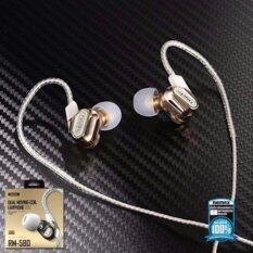 ขาย Remax Rm 580 หูฟัง Small Talk Double Moving Coil Earphone Earphone ไมโครโฟนแบบ Hd Voice ระบบเสียง Hifi รองรับทั้งระบบ Ios และ Androi Remax
