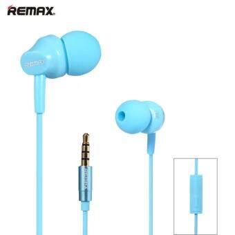 REMAX-RM501 Super Bass Stereo Headsets 3.5mm Plug Earphones (Blue)