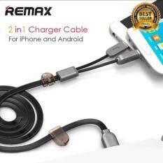 ขาย Remax สายชาร์จ 2In1 For Apple 8 Pin Adapter Micro Usb Cable For Iphone 7 6S Ipad Ipod Android Phone Samsung Fast Charging Cord Magnet รุ่น Rc 025T กรุงเทพมหานคร ถูก