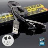 ซื้อ Remax สายชาร์จ 2In1 Usb Lightting Micro Cable For I5 I5S I6 I6S Samsung Andriod รุ่น Rc 042T สีดำ ใน ไทย