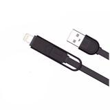 ส่วนลด Remax สายชาร์จ For Apple Usb Micro Usb 2In1 Rc 033T สีดำ ไทย