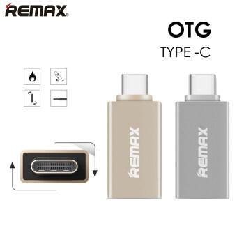 การส่งเสริม REMAX Type-C USB 3.0 OTG Sync Charging Adapter Connector hot deal - มีเพียง ฿139.00