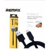 Remax Usb Type C Data Cable สายชาร์จและรับส่งข้อมูลรุ่น T Type C 1000Mm For Android Samsung Huawei Google Pixel Htc Sony Xperia Motorola Lg สีดำ ใหม่ล่าสุด