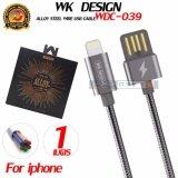 Remax ของเเท้100 สายชาร์จเกลียวสปริง ทน ชาร์จเร็ว 2 4A For Iphone Iosรุ่น Wdc 039 ใหม่ล่าสุด