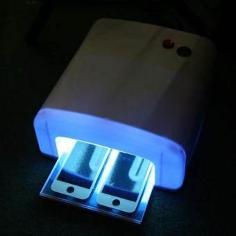 ซ่อมโทรศัพท์โทรศัพท์มือถือ LCD เครื่องอบแก้ว Light หลอดไฟอัลตราไวโอเลตสีขาว US Plug - INTL-