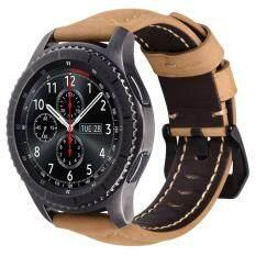 ราคา เปลี่ยนม้าบ้าหนังแท้สำหรับเกียร์ S3 คลาสสิก Sm R770 S3 ชายแดน Sm R760 Sm R765 สมาร์ทนาฬิกา นานาชาติ Unbranded Generic ใหม่