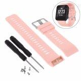 ราคา สายรัดข้อมือ Silicagel Soft Band สำหรับ Garmin Forerunner 35 Watch เป็นต้นฉบับ
