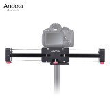 ความคิดเห็น Andoer Ft 40 Retractable Camera Video Slider Dolly Track Rail Stabilizer 40Cm Length 80Cm Actual Sliding Distance Aluminum Alloy Constructed For Canon Nikon Sony Dslr Camcorder Outdoorfree Intl