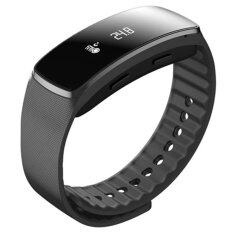 Riche hot selling Android and IOS bluetooth smart watch (สีดำ)