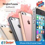 ราคา Ringke Fusion Iphone5 5S Se เคสใสกันกระแทก ผ่านการทดสอบการกระแทกระดับ Military Grade ด้วยเทคโนโลยีกระจายแรงกระแทก สีใส Ringke กรุงเทพมหานคร