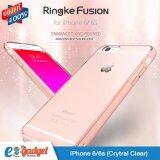 ราคา Ringke Fusion Iphone6 6S 4 7′ เคสใสกันกระแทก ผ่านการทดสอบการกระแทกระดับ Military Grade ด้วยเทคโนโลยีกระจายแรงกระแทก สีใส กรุงเทพมหานคร
