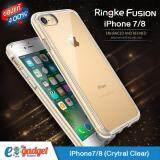 ซื้อ Ringke Fusion Iphone7 8 4 7 เคสใสกันกระแทก ผ่านการทดสอบการกระแทกระดับ Military Grade ด้วยเทคโนโลยีกระจายแรงกระแทก สีใส Ringke ออนไลน์