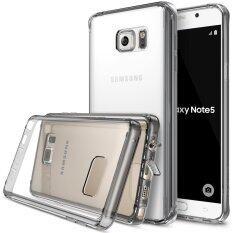 ซื้อ Ringke Fusion Pc And Tpu Back Cover Case For Samsung Galaxy Note 5 Smoke Black Intl Ringke