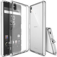 ราคา Ringke Fusion Pc And Tpu Back Cover Case For Sony Xperia Z5 Premium Clear Intl