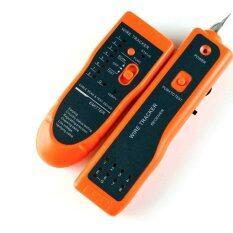 ราคา Rj11 Rj45 Telephone Wire Tracker Toner Ethernet Lan Network Cable Test Tester Intl ใหม่