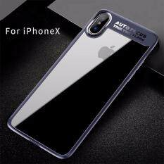 ส่วนลด Rock เคส Iphone X หลังแข็งใส ขอบนิ่ม Pc Tpu Clarity Series Rock