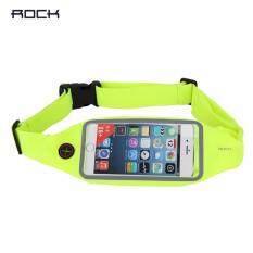 ซื้อ Rock กระเป๋าใส่โทรศัพท์คาดเอวสำหรับออกกำลังกาย ปรับได้ 70 Cm 140 Cm รุ่น Universal Running Belt Touch Screen Rock