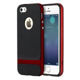 ราคา ราคาถูกที่สุด Rock Royce Series เคสกันกระแทก สำหรับ Iphone5 5S Se สีแดง Red