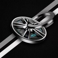 ขาย ซื้อ ออนไลน์ Rock แหวนยึดติดโทรศัพท์ Spinner Ring Holder รุ่น B สีดำ