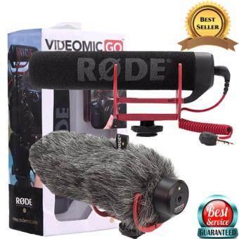 ไมค์อัดเสียง Rode รุ่น Videomic go ฟรี ขนเเมวกันลม (dead cat go)
