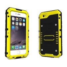 ขาย Roortour Iphone 6 6S Case Heavy Duty Ip68 Waterproof Shockproof Dirtproof Full Protective Rugged Case With Zinc Alloy Shell Tempered Glass Screen Full Sealed Case Cover For Iphone 6 6S Intl