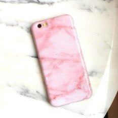 ขาย Rorychen Pink Marble Apple Phone Case Simple Couple Smooth Case Soft Case(Iphone6 Plus 6S Plus) Intl ถูก จีน