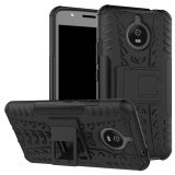 โปรโมชั่น เคสโทรศัพท์แบบคลุมเครื่อง แข็งแรงทนทาน สำหรับ Motorola Moto E4 Plus สีดำ ใน จีน