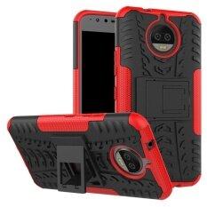 ขาย ซื้อ ออนไลน์ Rugged Armor Dazzle Back Cover Case For Motorola Moto G5S Plus Intl