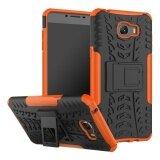 ขาย Rugged Heavy Duty Armor Hard Back Cover Case With Kickstand For Samsung Galaxy C9 Pro Sm C9000 6 Inch Intl ถูก