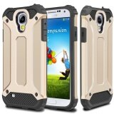 ราคา Rugged Hybrid Dual Layer Hard เกราะป้องกันกรณีหลังฝาครอบกันกระแทกสำหรับ Samsung Galaxy S4 I9500 ใหม่