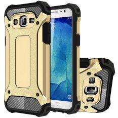 ขาย Ruilean Tpu And Pc Heavy Duty Armor Dual Layer Protective Case For Samsung Galaxy J7 2015 Gold ผู้ค้าส่ง