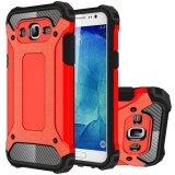 Ruilean Tpu And Pc Heavy Duty Armor Dual Layer Protective Case For Samsung Galaxy J7 2015 Red Ruilean ถูก ใน จีน