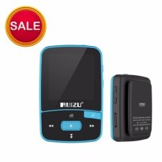 ซื้อ Ruizu X50 8 กิกะไบต์บลูทูธ Mp3 Mp4 เครื่องเล่นเพลงมินิกีฬา Walkman คลิปการบันทึกวิทยุเอฟเอ็มอิเล็กทรอนิกส์ Pedometer สีฟ้า สีเขียว สีแดง สีดำ นานาชาติ Ruizu เป็นต้นฉบับ